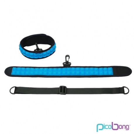 PICOBONG SPEAK NO EVIL CHOKER COLLAR AZUL