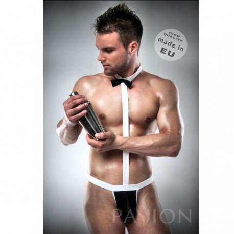 DISFRAZ KOMPLET 021 SEXY CAMARERO BY PASSION MEN  L/XL