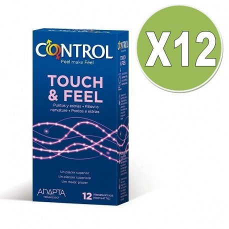 CONTROL TOUCH AND FEEL 12 UNID PACK 12