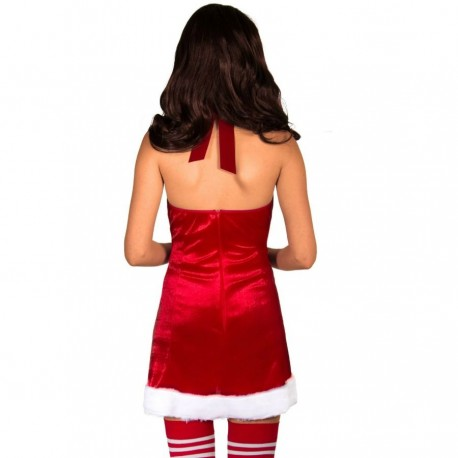 LEG AVENUE SANTA CLAUS SET 2PCS L/XL