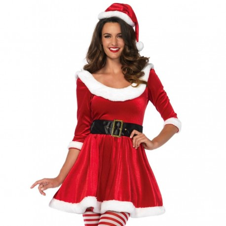 LEG AVENUE SANTA CLAUS 3PCS SET S/M