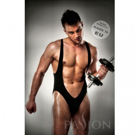 BODY 011 JOCKSTRAP BLACK MEN LINGERIE BY PASSION XXL/XXXL