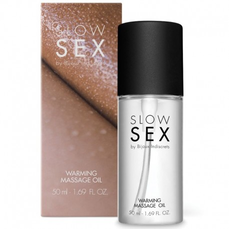 SLOW SEX ACEITE MASAJE EFECTO CALOR 50 ML