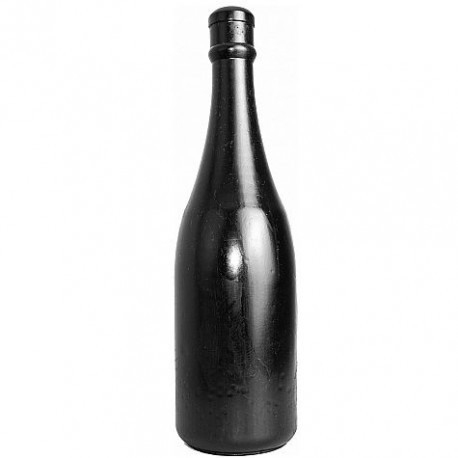 ALL BLACK ANAL BOTTLE 34,5CM