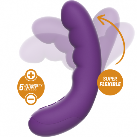 REWOLUTION REWOCURVY VIBRADOR FLEXIBLE RECARGABLE